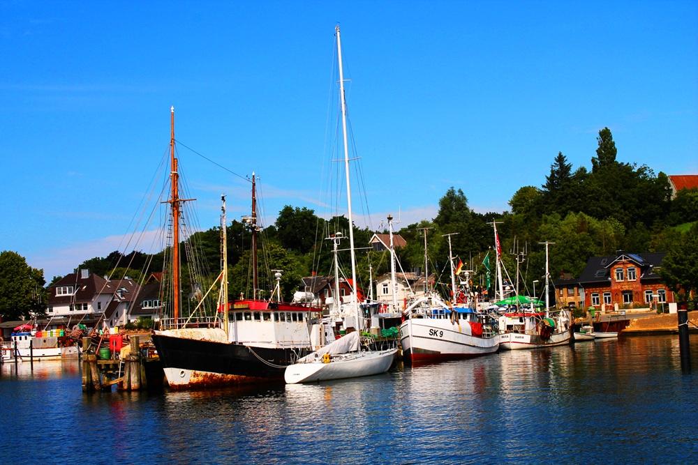 Malerischer Fischereihafen