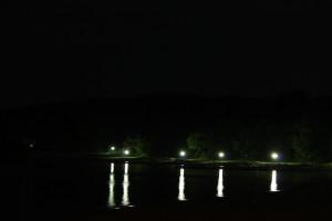 Romantische Uferpromenade